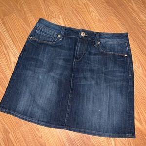 Jean Mavi mini skirt